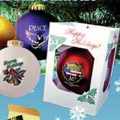 Promotinal shatter-proof ornaments