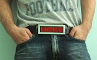 LED advertising belt buckle