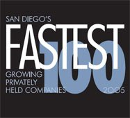 San Diego Business Journal 100 Fastest Growing Companies