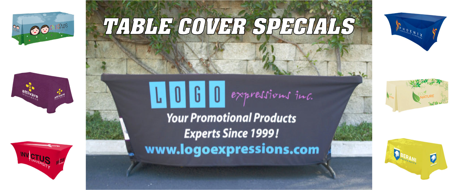 Table Covers with Your Logo