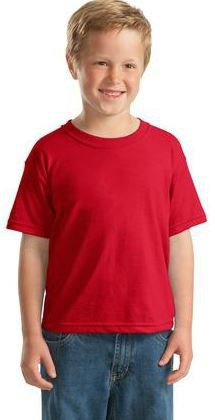 Youth 50/50 Cotton/Poly T-Shirt