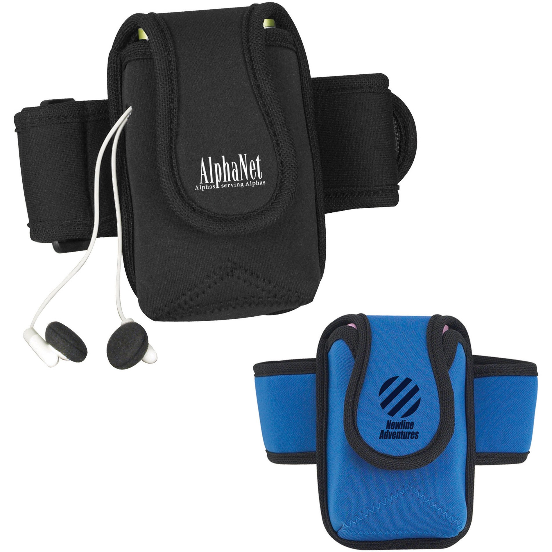 Workout Armband with Media Holder