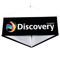 10ft 3-Sided Hanging Banner Kit
