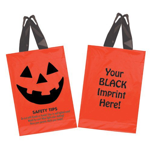 Orange Plastic Softloop Bags