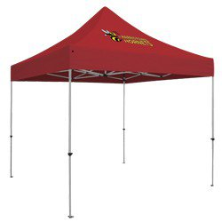Deluxe 10' Square Tent (Full-Color Thermal Imprint, 1 Location)