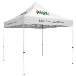 Standard 10' Square Tent (Full-Color Thermal Imprint, 4 Locations)