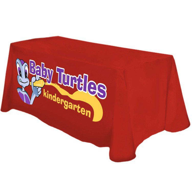 4ft Tablecloth with Full Color Imprint