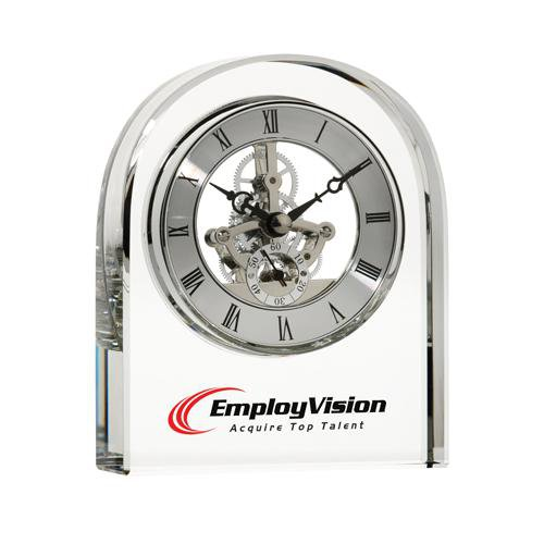 Crystal Skeleton Movement Clock