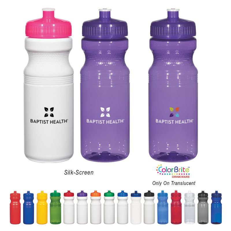 "24 Oz. Poly-Clearâ""¢ Fitness Bottle"