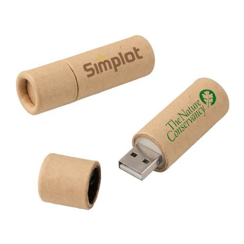 Recycled Paper USB 2.0 Flash Drive