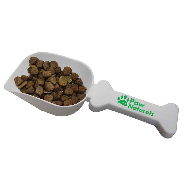Pet Food Scoop w/ Bone Shaped Handle