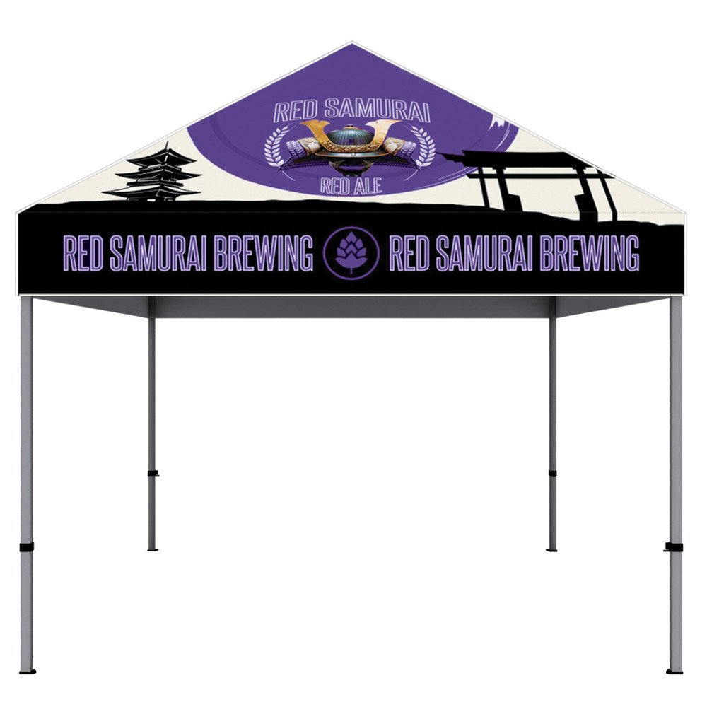 10 Ft. Aluminum Canopy Tent Dye-Sub Graphic Package