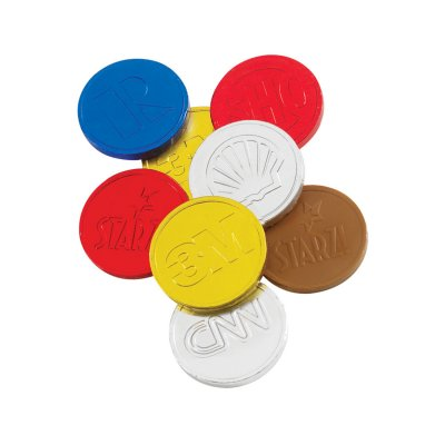 Custom Molded Chocolate Coins