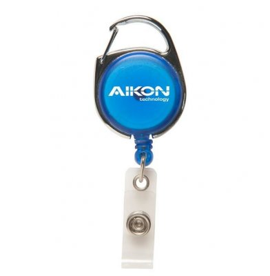 Carabiner Retractable Badge Holder