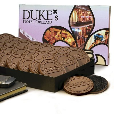 24 Chocolate Cover Cookie Gift Box
