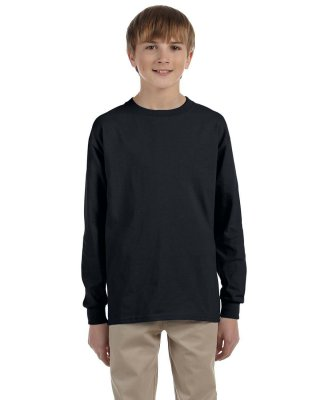 Youth Long-Sleeve Heavyweight Blend T-Shirt