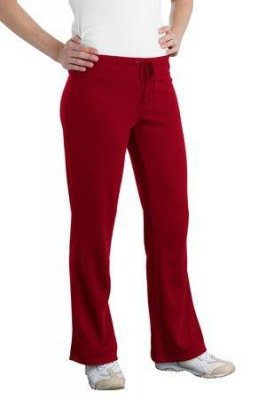 Ladies Silk Touch Mesh Knit Pant
