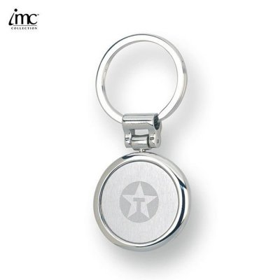Split-ring Round Keychain