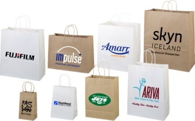 Paper Bags - Natural Kraft Shopper