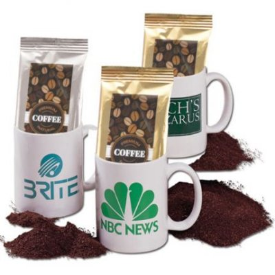 11oz Mug with Coffee Pack