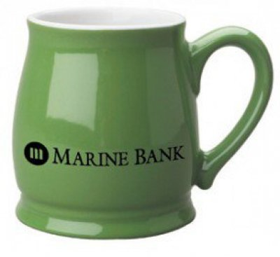 15 oz. Lime Green Spokane Mug