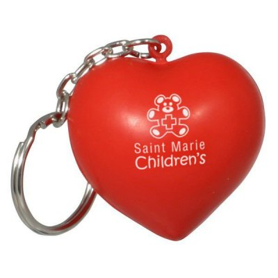 Heart Keychain Stress Reliever
