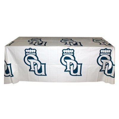 6' Flat, 3 Sided Recyclable Plastic Step and Repeat Table Cover