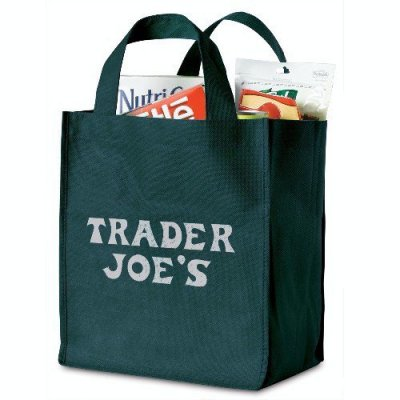 "14"" x 11.75"" x 8.5"" Recyclable Grocery Tote Bag"