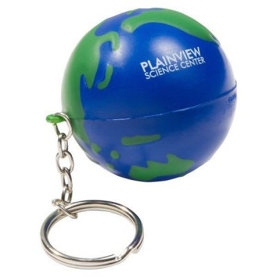 Earthball Key Chain Stress Reliever
