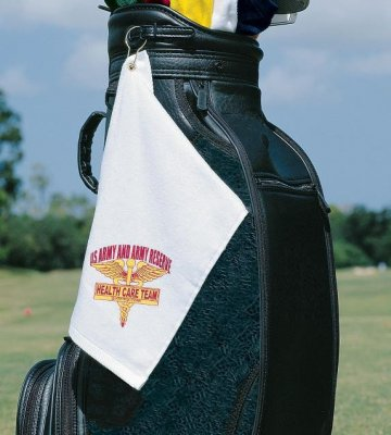 "Turkish Signature 1.2lb 12"" x 17"" Golf Towel"