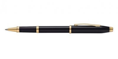 Century II - Black Lacquer Rollerball Pen
