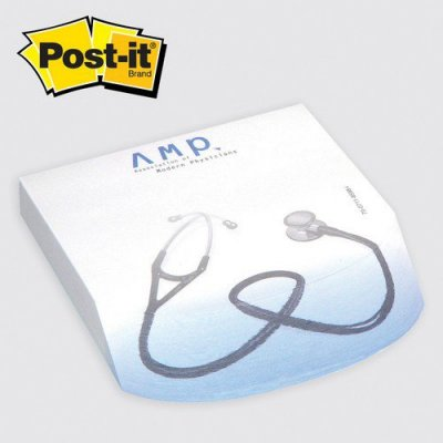 Post-it Custom Printed Angle Note Pads Round