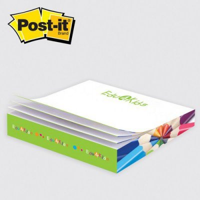 Post-it Custom Printed Notes SlimCube