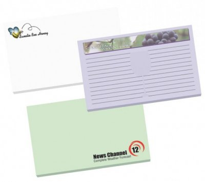3 x 8 x 5 x 3 Adhesive Notepads