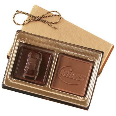 1.25 oz Custom Chocolate Squares Gift Box