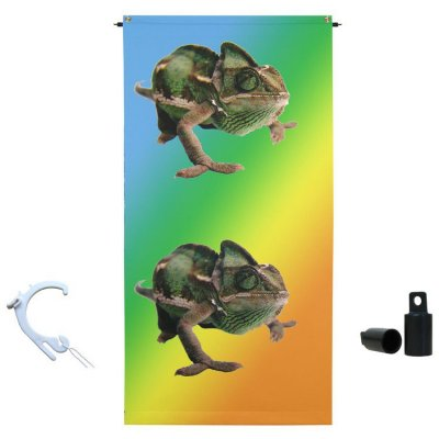 "4' x 8' ""Hang it Anywhere"" Vertical Banner & Display Hardware"