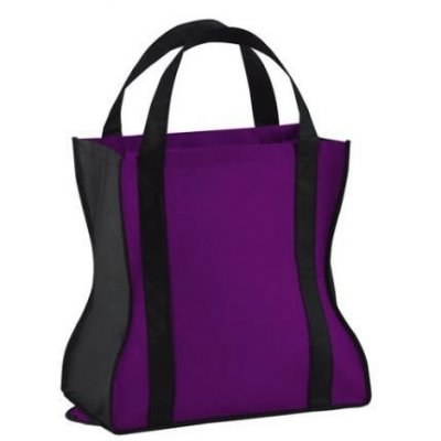"15"" x 15-1/4"" x 8-1/2""  Spiffy Non-Woven Tote Bag"