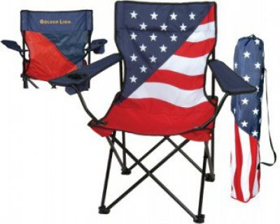 Patriotic Super Folding Chair