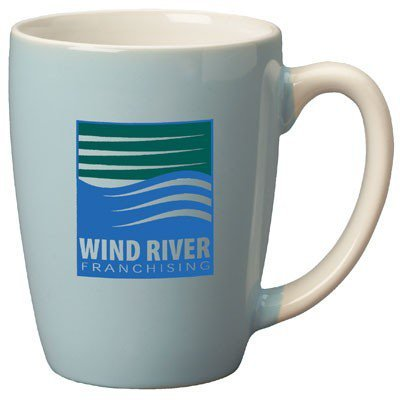 12.5oz Canaveral Powder Blue Pastel Mugs
