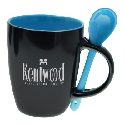 12oz Bistro Mug w/ Spoon