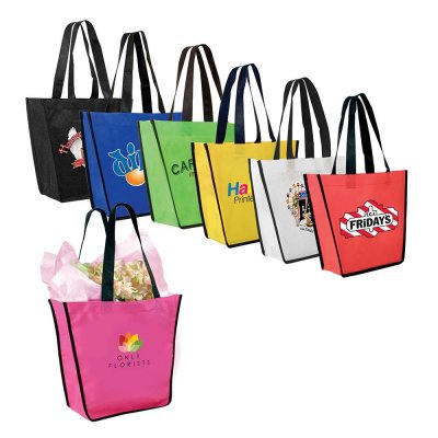 Non-Woven FiestaTote Bag, Full Color Digital