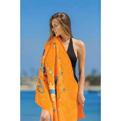 "White 30"" x 60"" 11lb Beach Towel"