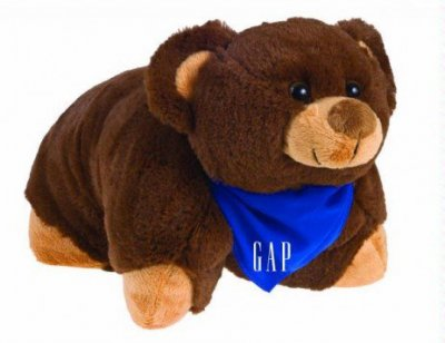 Pillow Pals - Brown Bear