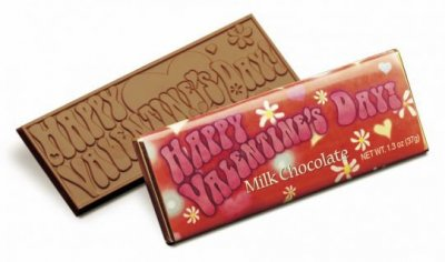 Happy Valentine's Day Chocolate Bar