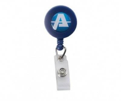 Retractable Badge Reel w/Belt Clip