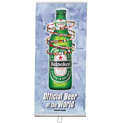 "33""W x 79""H Economy Retractable Banner & Stand Set"
