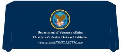 Veterans Justice Outreach 6ft Table Cover