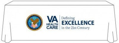 VA Health Care 8ft Table Cover