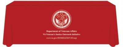 Veterans Justice Outreach 8ft Table Cover