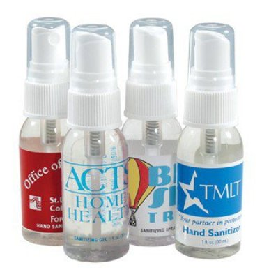 1 oz Spray Sanitizer